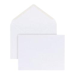 Office Depot® Brand Invitation Envelopes, A2, Gummed Seal, White, Box Of 100