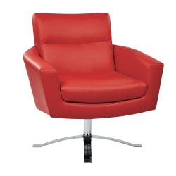 Office Star™ Avenue Six Nova Arm Chair, Red/Chrome