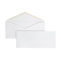 "Office Depot® Brand All-Purpose Envelopes, #10, 4-1/8"" x 9-1/2"", White, Box Of 500"