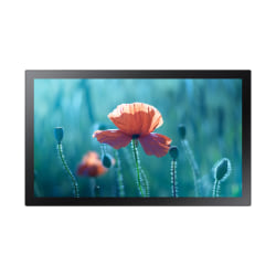 """Samsung QB13R-T - 13"""" Diagonal Class QBR Series LED display - interactive digital signage - with touchscreen (multi touch) - Tizen OS - 1080p (Full HD) 1920 x 1080"""