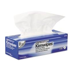 Kimberly-Clark Professional Kimwipes Delicate Task Wipers - Wipe - 119 / Box - 1 Box - White