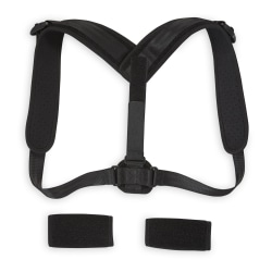 Gaiam Restore Posture Corrector, One Size Fits Most, Black