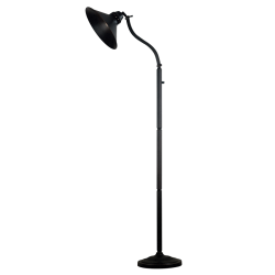"Kenroy 70"" Adjustable-Arm Floor Lamp, Oil-Rubbed Bronze Finish"