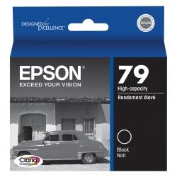 Epson® 79, (T079120) Claria® Hi-Definition High-Capacity Black Ink Cartridge