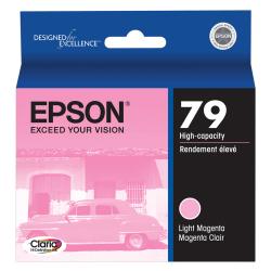 Epson® 79, (T079620) Claria® Hi-Definition High-Capacity Light Magenta Ink Cartridge