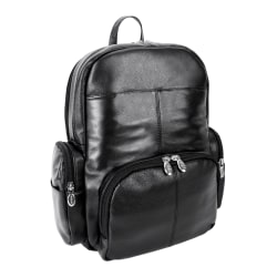 "McKlein S-Series Cumberland Backpack With 15"" Laptop Pocket, Black"