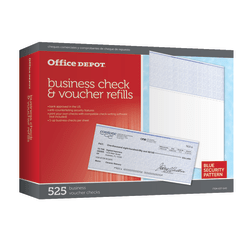Office Depot® Brand Standard Check Refill Pack, 1-Part, Pack Of 525