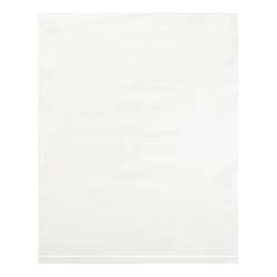 """Office Depot® Brand Flat 2-Mil Poly Bags, 12"""" x 15"""", White, Case Of 1,000"""