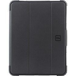 """Tucano Rugged Carrying Case (Folio) for 10.9"""" Apple iPad Air (4th Generation) Tablet - Black, Transparent - Shock Resistant Shell - Thermoplastic Polyurethane (TPU) Edge, Polycarbonate"""