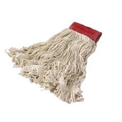 Rubbermaid® Wet Mop Head, Super Stitch®, Cotton, White, Case Of 6