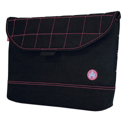 """HS Notebook Sleeve - 11.5"""" x 14.5"""" x 1.5"""" - Ballistic Nylon - Black"""
