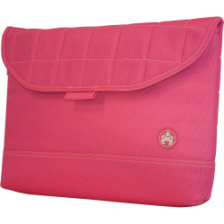 "SUMO 13"" MacBook Sleeve - 11"" x 14.5"" x 1.5"" - Ballistic Nylon - Pink"