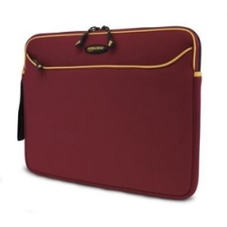 Mobile Edge Notebook Sleeve - Neoprene - Red, Gold