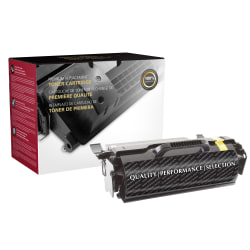 Clover Imaging Group™ 117518P (IBM 39V2513 and 39V2514) High-Yield Remanufactured Black Toner Cartridge