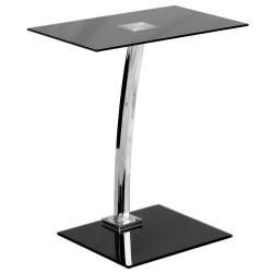 Flash Furniture Laptop Computer Desk, Black