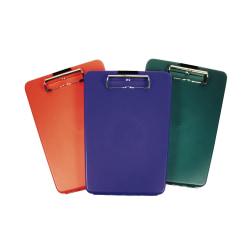 Saunders® SlimMate Plastic Form Holder Storage Clipboard, Letter Size, Assorted Colors