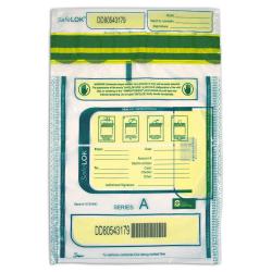 Tamper Evident Deposit Bags 9 X 12