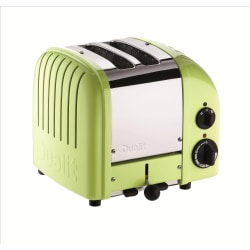 Dualit® NewGen Extra-Wide Slot Toaster, 2-Slice, Lime Green