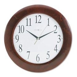 Howard Miller Corporate Wall Clock - Analog - Quartz