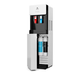 Avalon Self Cleaning Bottleless Water Cooler Dispenser - Hot & Cold Water, Child Safety Lock, Innovative Slim Design - UL/Energy Star Approved- White