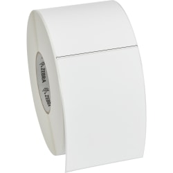 """Zebra Label Paper, DQ8712, 4"""" x 6"""" Thermal Transfer Z™Select 4000T, Removable 3"""" Core"""