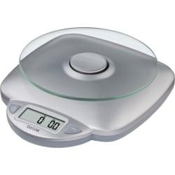 """Taylor Digital Food Scale, 8"""" x 9.4"""" x 2.8"""", Silver"""