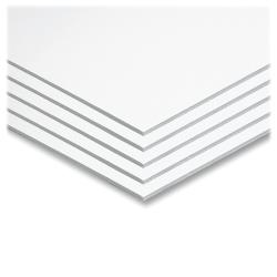 """Pacon® Original Foam Core Graphic Art Board, 22"""" x 28"""", White, Carton Of 5"""