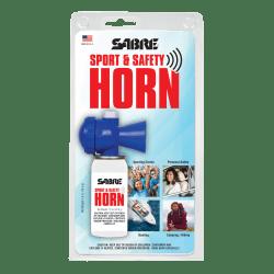 SABRE Sport & Safety Horn, White/Blue