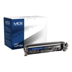 Clover Technologies Group™ MCR30AM Remanufactured Black MICR Toner Cartridge Replacement For HP CF230A