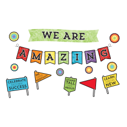 Carson-Dellosa Celebrate Learning We Are Amazing Bulletin Board Set