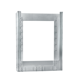 """Azar Displays Wall-Mount Brochure Holders, Letter Size, 1 Pocket, 11 1/4""""H x 9 1/8""""W x 1 1/4""""D, Pack Of 10"""
