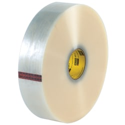 """3M® 371 Carton Sealing Tape, 3"""" x 1,000 Yd., Clear, Case Of 4"""