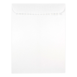 """JAM Paper® Open-End Envelopes With Peel & Seal Closure, 9"""" x 12"""", White, Pack Of 50 Envelopes"""