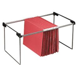 Smead® Letter/Legal Hanging Folder Frames, Letter/Legal Size, Silver, Pack Of 2
