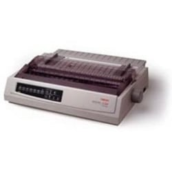 Oki MICROLINE 321 Turbo/N Dot Matrix Printer - 9-pin - 435 cps Mono - 240 x 216 dpi - Parallel, USB