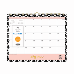 """Blue Sky™ Dabney Lee Seashells Monthly Wall Calendar, 15"""" x 12"""", June 2020 To July 2021, 118895"""