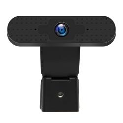 Centon OTM Basics 360° 2.0-Megapixel USB Webcam, Black, OB-AKK