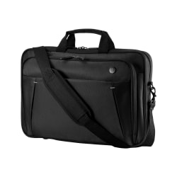 """HP Carrying Case for 15.6"""" Chromebook - Black - Chest Strap, Handle - 1.5"""" Height x 15.2"""" Width x 10.5"""" Depth"""