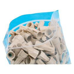 """100% Recycled Seal Closure Bags, 8"""" x 8"""", Box Of 1,000 (AbilityOne)"""