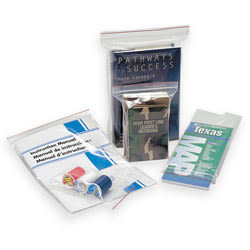 """100% Recycled Seal Closure Bags, 10"""" x 10"""", Box Of 500 (AbilityOne)"""