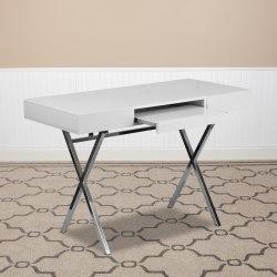 """Flash Furniture 45""""W Computer Desk, White"""