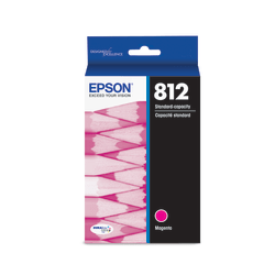 Epson T812 - Magenta - original - ink tank - for WorkForce EC-C7000; WorkForce Pro WF-7820, WF-7840