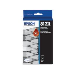 Epson 812XL - High Capacity - black - original - ink cartridge - for WorkForce EC-C7000; WorkForce Pro WF-7820, WF-7840