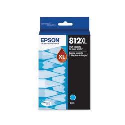 Epson® DURABrite Ultra 812XL High-Yield Cyan Ink Cartridge