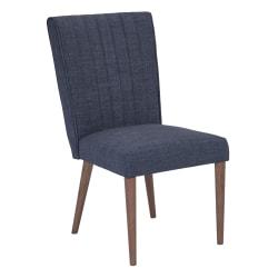 Ave Six Caroline Dining Chair, Navy/Coffee