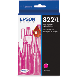 Epson® DURABrite Ultra 822XL High-Yield Magenta Ink Cartridge