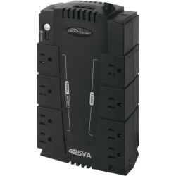 Compucessory 8-Outlet 230W UPS Backup System - 110 V AC Input - 120 V AC Output - 8