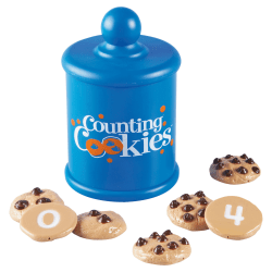 """Learning Resources® Smart Snacks® Counting Cookies™, 1 3/4"""" x 1 3/4"""", Grades Pre-K - 4, Pack Of 11"""