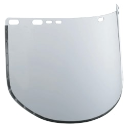 "Jackson Safety F30 34-40 Acetate Face Shield, 15 1/2"" x 9"", Clear"