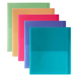 Office Depot® Brand 14-Pocket Portfolio, Assorted Colors